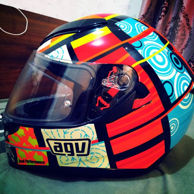 Agv K3 Sv Elements Size L Shopee Indonesia