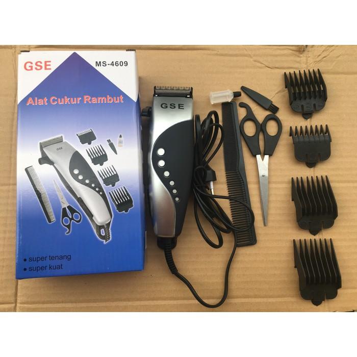 Alat Cukur salon rambut jenggot kabel Listrik gunting sisir Happy king GSE   d266ee1ef8