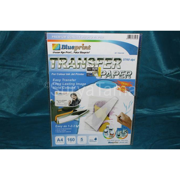 Sale blueprint transfer paper a4 160gsm print or paint termurah sale blueprint transfer paper a4 160gsm print or paint termurah shopee indonesia malvernweather Choice Image