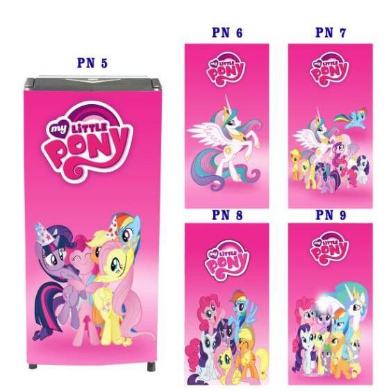 Wallpaper Kulkas 1 Dan 2 Pintu Motif Kuda Pony Shopee Indonesia