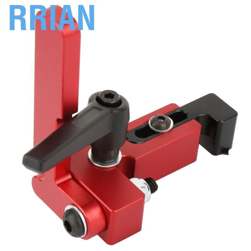 Alloy Steel Type-75 Woodworking Tool Miter Track Stop Accurate Length Limit Device Miter Track Stop Woodworking DIY Tool