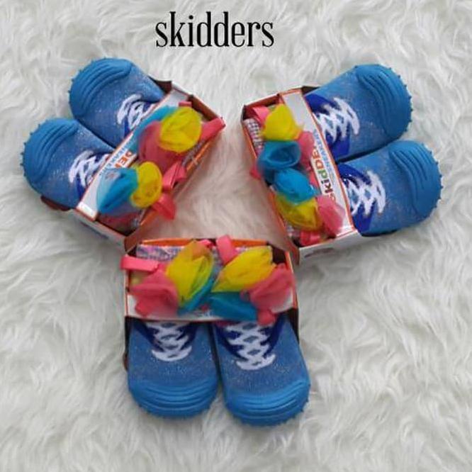 Sepatu Kaos Kaki Model Skidder Laki-laki / Perempuan Anti Slip Bahan Katun | Shopee