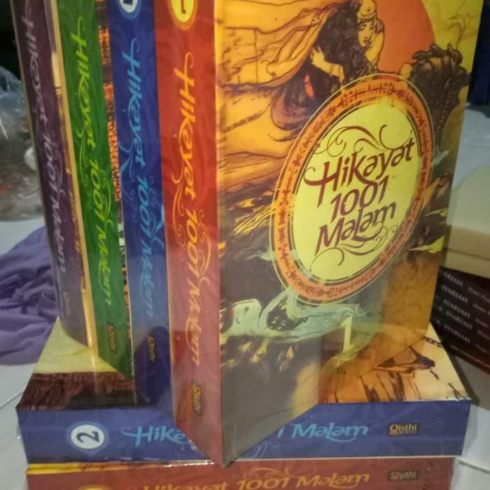 Spritual Book Buku Hikayat 1001 Malam Paket 4 Buku Lengkap Buku Agama Shopee Indonesia