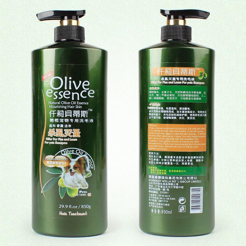Shampoo Olive 450ml all varian Untuk Anjing dan Kucing-Dog&Cat No3 850ml
