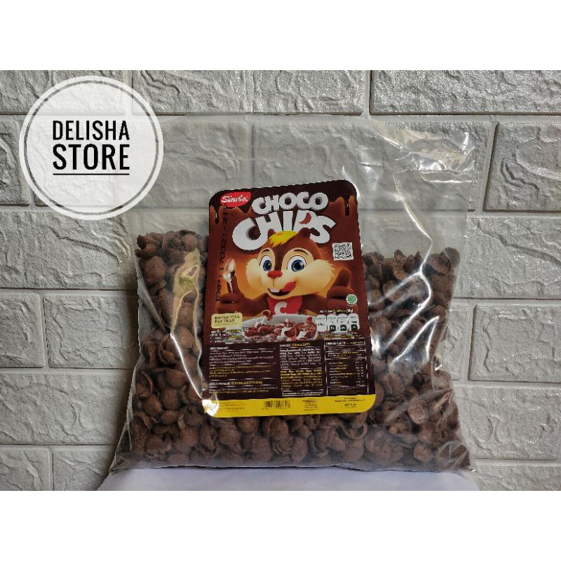 Cereal simba Choco chips 500gram