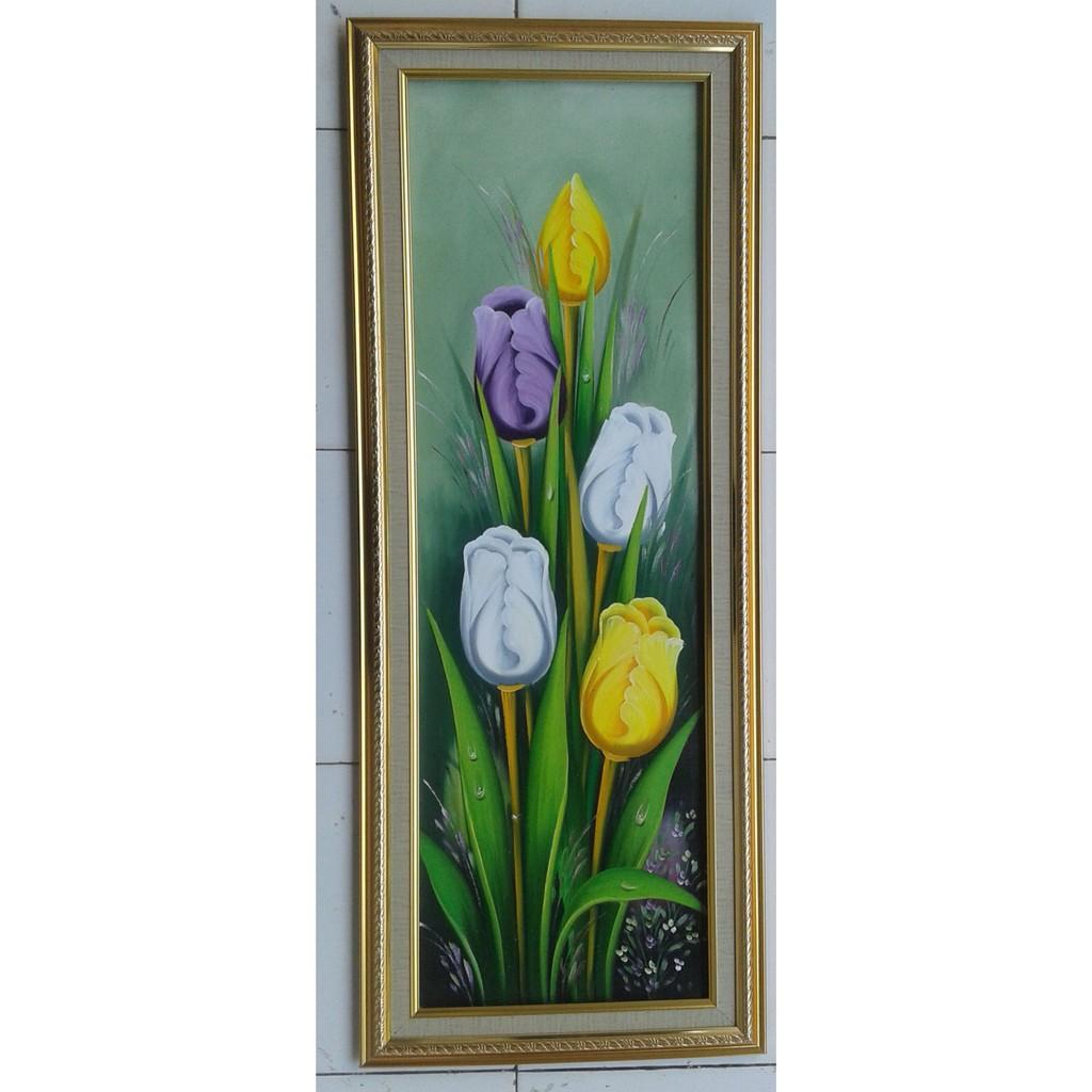 Lukisan Bunga Tulip Shopee Indonesia
