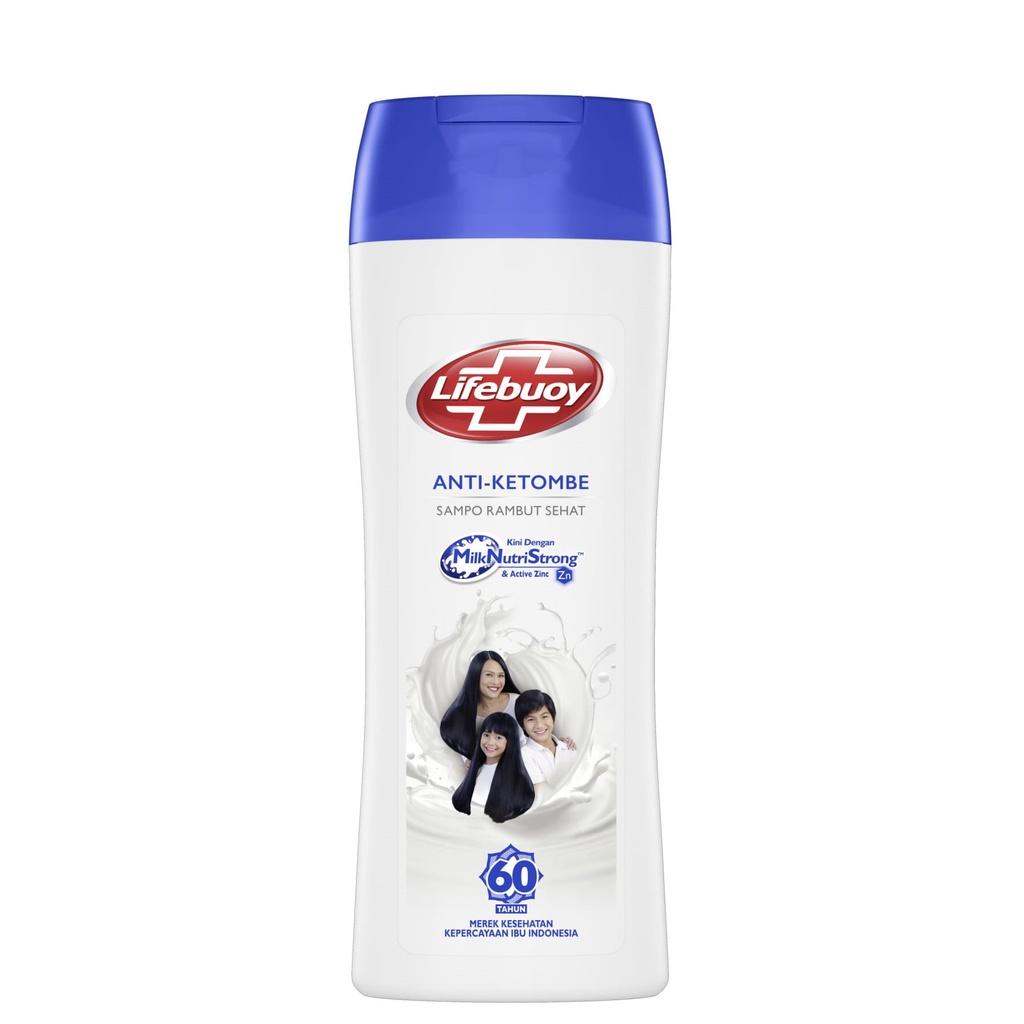 Lifebuoy Anti Dandruff Shampo Rambut Anti Ketombe Active Zinc 170ml Lawan Bakteri-1