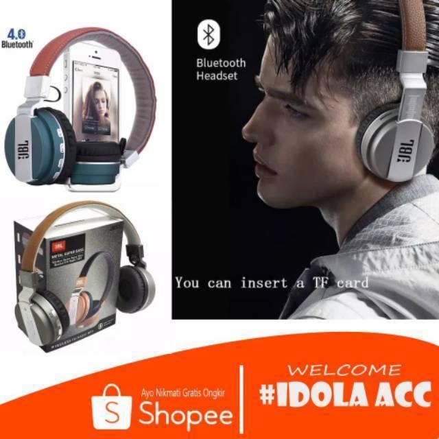 Bluetooth Jbl Jb55 Headset Bluetooth Headphone Wireless Terbaik Dan Termurah Enjoy Your Music Yea Shopee Indonesia