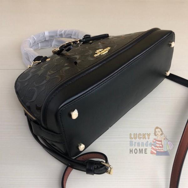 Tas Wanita Coach Mini Sierra Signature Debossed Original 55450