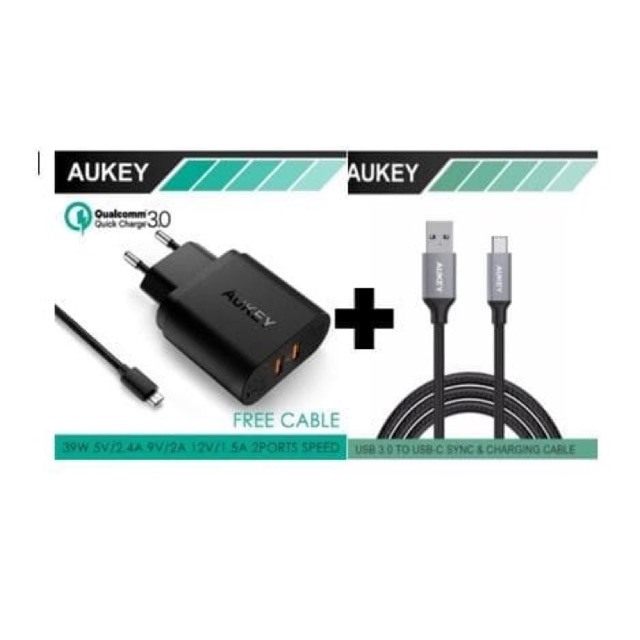 ... GOLD GRATIS 1 BUAH CAR CHARGER 3 PORT USB 3 BUAH KABEL DATA SMILE MICRO USB. AUKEY USB OTG TYPE C ADAPTER MALE USB 3.0 FEMALE OTG COVERTER CB-C4 |