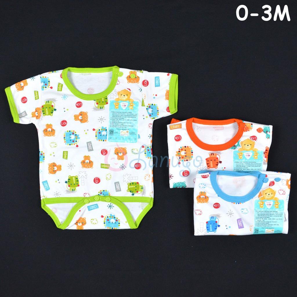 3f075bc4be75 LIBBY Baju Kodok Segitiga   Jumper Bayi Baby Motif (0-3M)