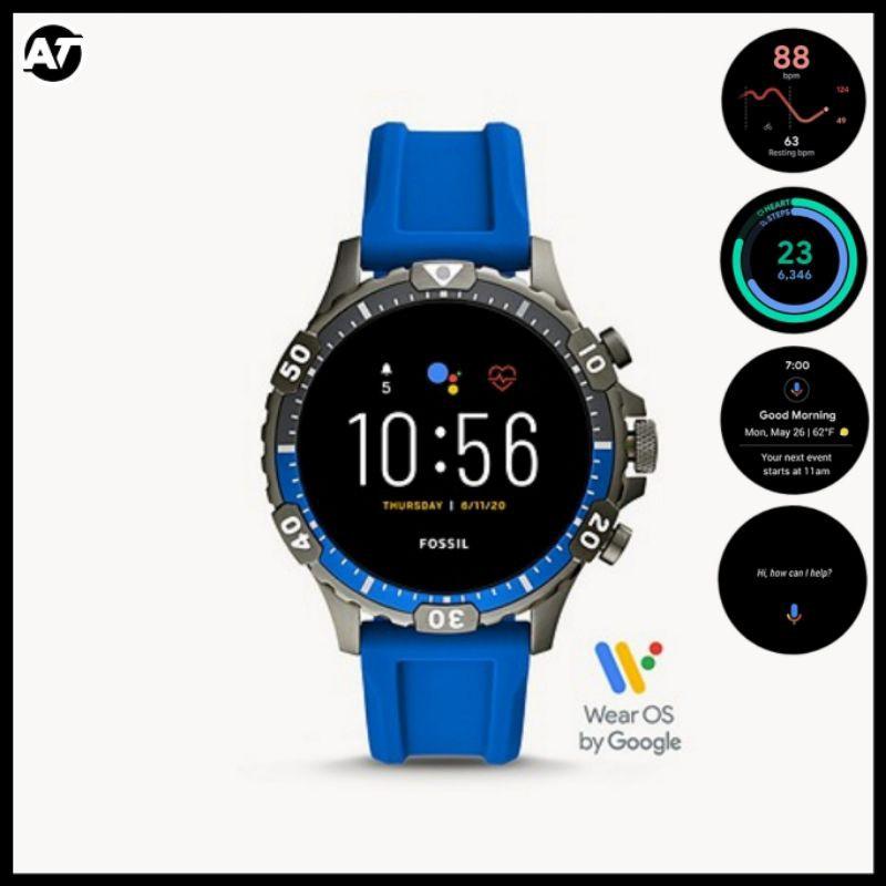 Smartwatch Fossil Pria - Fossil Smartwatch Gen 5 FTW4042 ORIGINAL Resmi