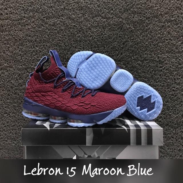 5572fb6b282 Lebron 15 Gradient Grey   Sepatu basket james abu umlimited