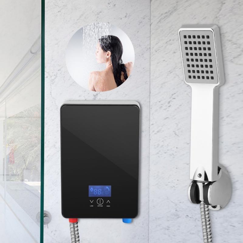 220v 6500w Pemanas Air Instan Elektrik Tanpa Tanki Untuk R Mandi Rumah Sho Indonesia