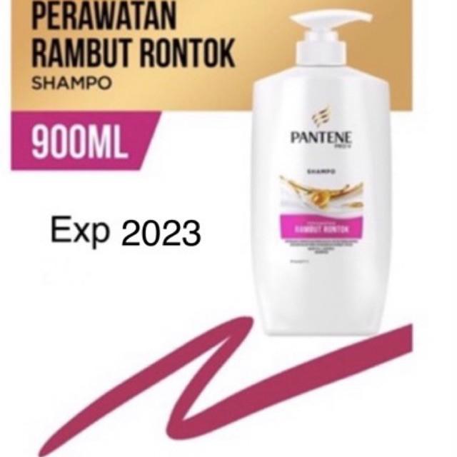 Pantene Shampoo Hair Fall Control 900ml Kemasan Baru 2023