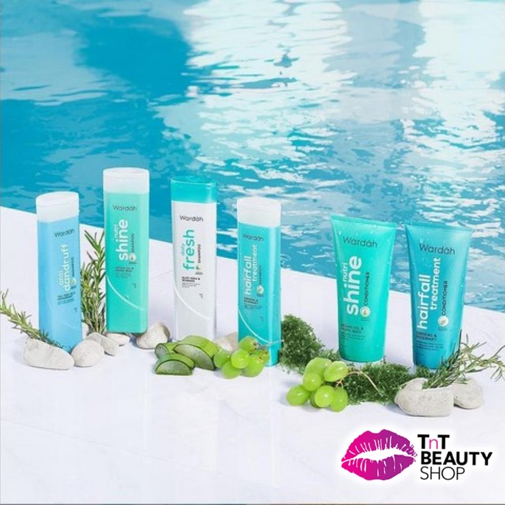 Wardah Shampoo Daily Fresh Aloe Vera & Seaweed   Dandruff   Nutri Shie   Hairfall-2
