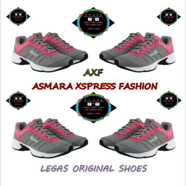 Jual League Legas Original Series Atom LA Sepatu Lari Black White Black  Murah  5a73a90b11