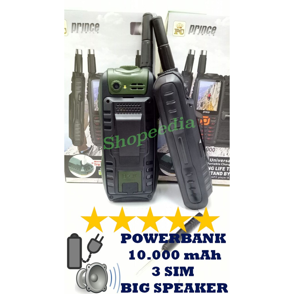 Brandcode B68 B 68 Hp Bisa Ht Dan Powerbank 10000 Mah Outdoor Weekend Deals Hijau Dual