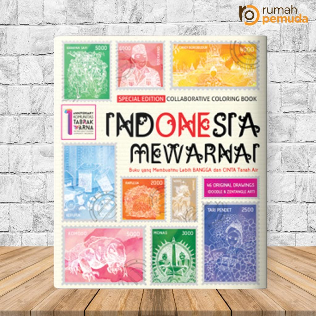 Indonesia Mewarnai Renebook My Own World Coloring Book Buku Mewarnai Terapi Anti Stres