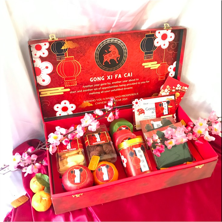 GONG XI PACKAGE (CHINESE NEW YEAR HAMPERS 2021)