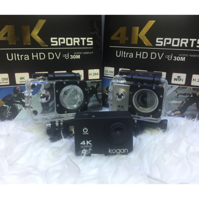 Kogan Action Camera 4K NV UltraHD - 16MP WIFI - GARANSI RESMI KOGAN INDONESIA 1TAHUN | Shopee Indonesia