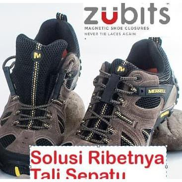 ff6922bca390 Zubits Magnet Hi Tech Solusi Praktis Tali Sepatu Boots Sneakers USA  (Sportty)