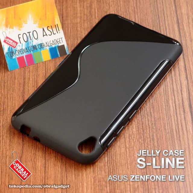 Soft Case Gliter Asus Zenfone Live ZB501KL/Silikon/Silicon/Jelly Casing | Shopee