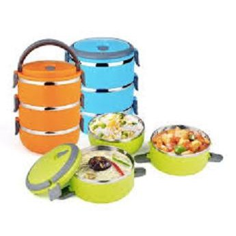RANTANG 4 SUSUN STAINLESS STEEL / Eco Lunch Box ...