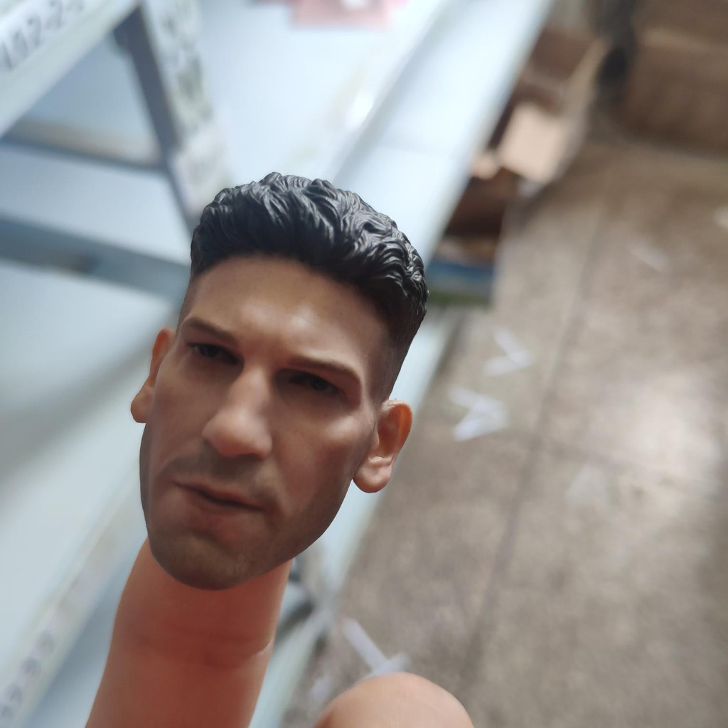 1//12 The Punisher-Male Head Sculpt