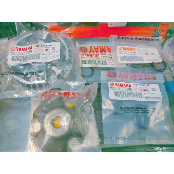 Paket Cvt V Belt Vanbelt  Mio Smile Mio Sporty Nouvo Fino Mio Soul Karbu Ori Original Yamaha Kipas