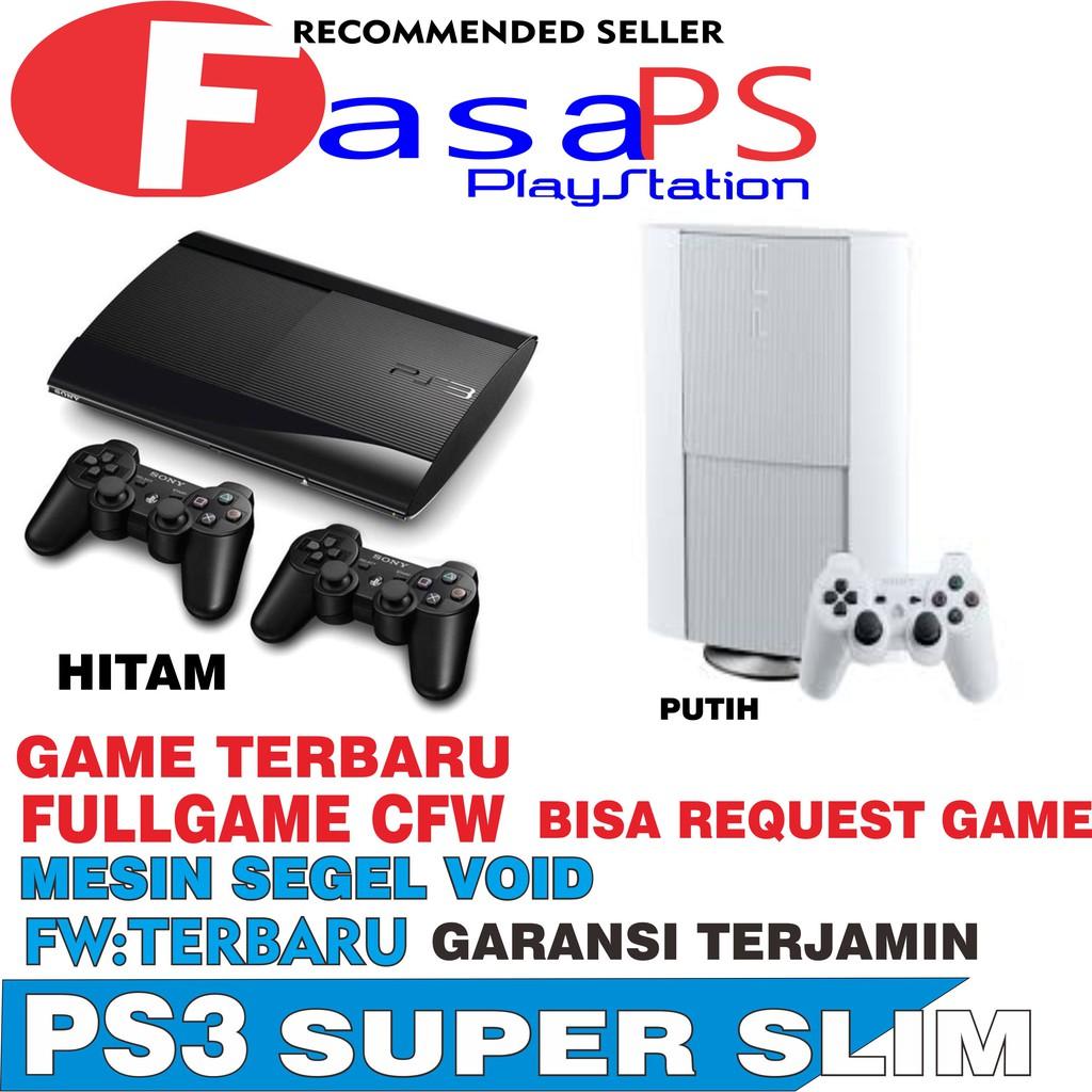 Playstation Ps3 Slim 160gb Cfw Terbaru 4804 Daftar Harga Terkini Ps 3 20xxx Refurbish 480 Hdd Internal 120gb Toko Online Fasa