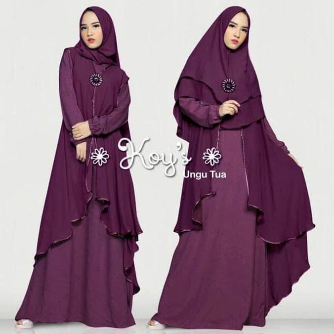 Gamis Gaul 2020 Gamis Syari Jumbo Syari Koy Gamis Muslim Wanita Terbaru Ladangki Production Shopee Indonesia