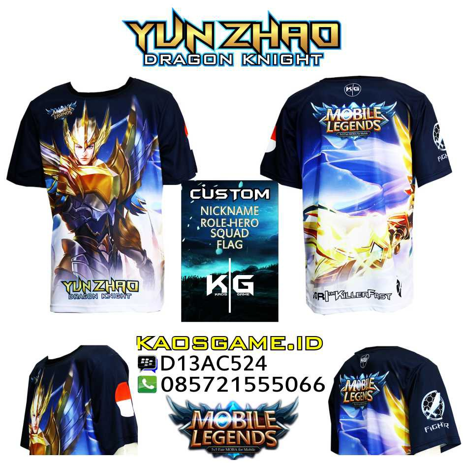 Kaos Sun Mobile Legends Monkey King Shopee Indonesia