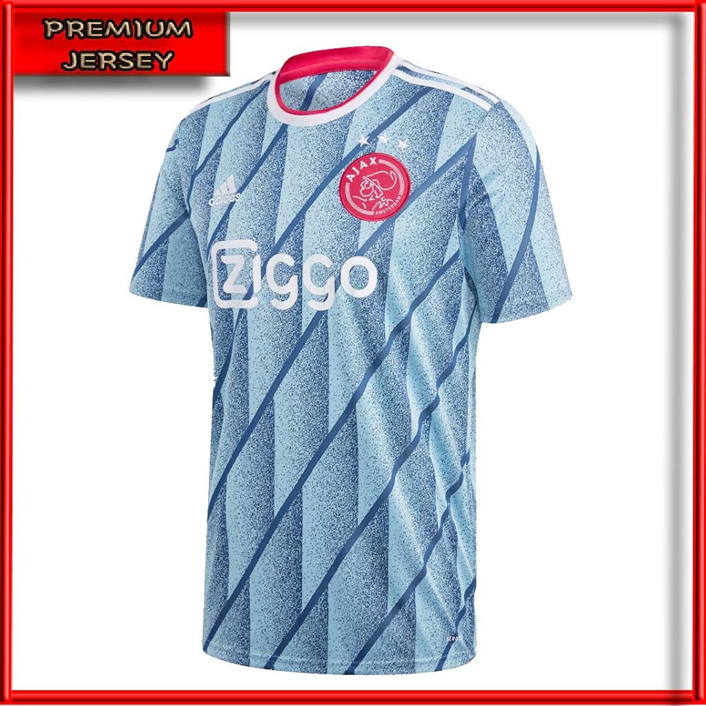 Jersey Bola Ajax Amsterdam Away 2020 2021 Grade Ori Premium Baju Bola Ajax Amsterdam Away Terbaru Shopee Indonesia