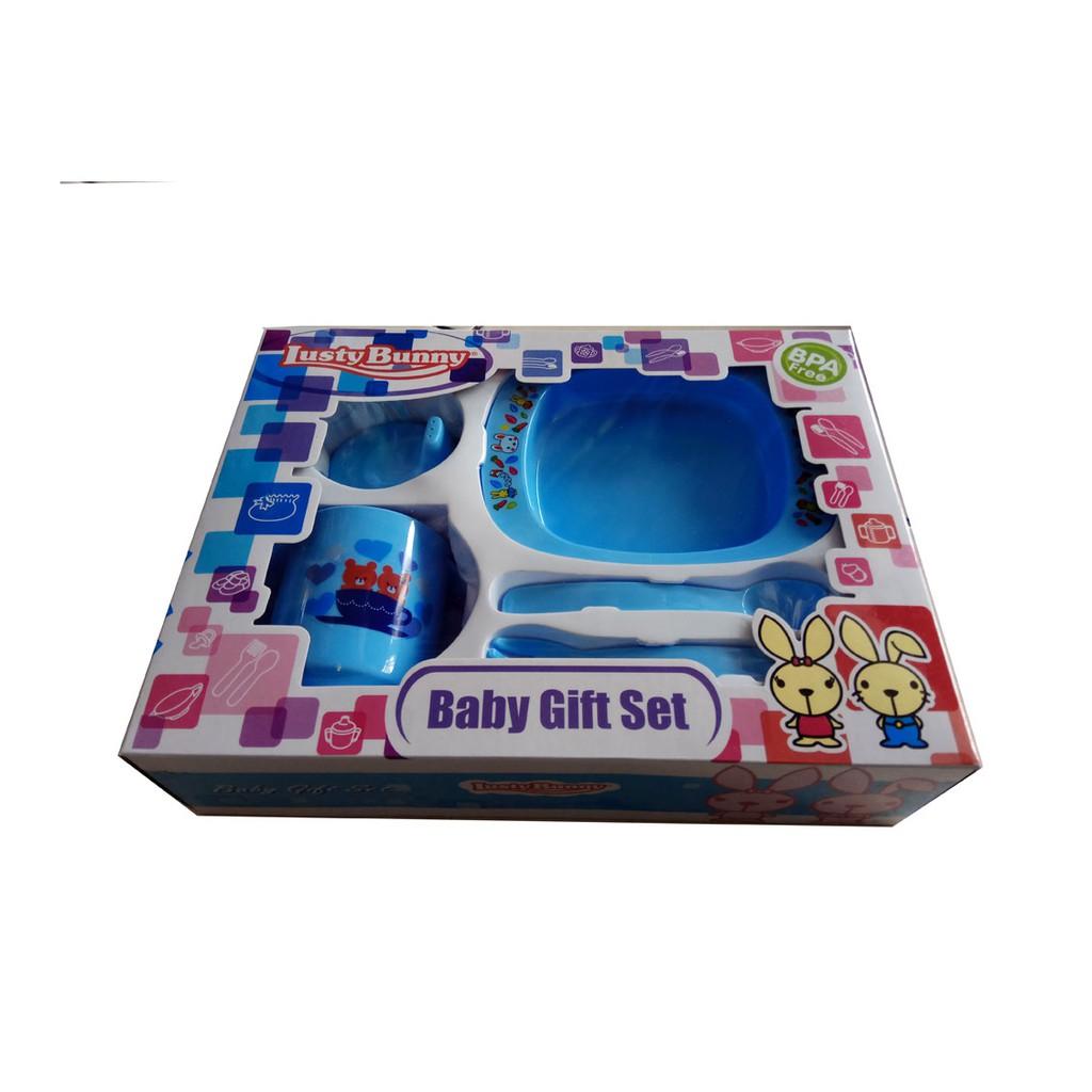 Lusty Bunny Feeding Set Lb 1849 Tempat Makan Bayi Shopee Indonesia Sepatu Sandal Bunyi Batik Love Pink20
