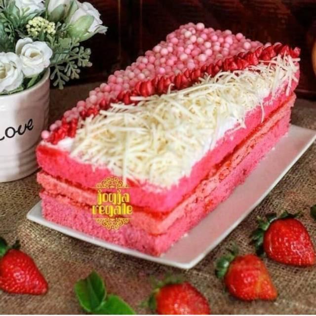 Jogja Regale Cake Thiwul Makanan Kekinian Shopee Indonesia