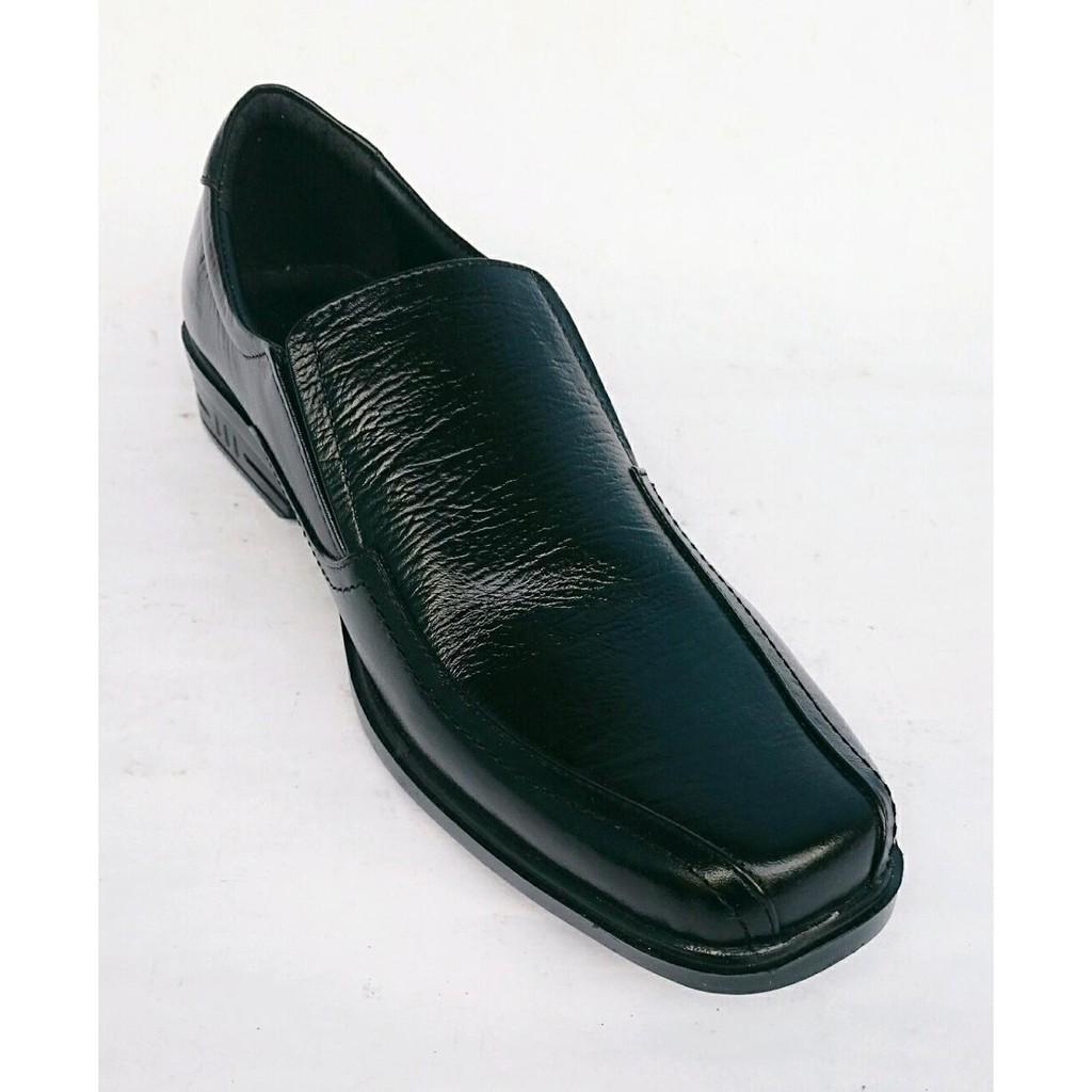 Unik Sepatu pantofel pria kulit asli Rasheda K 02 Limited  d91bed100b