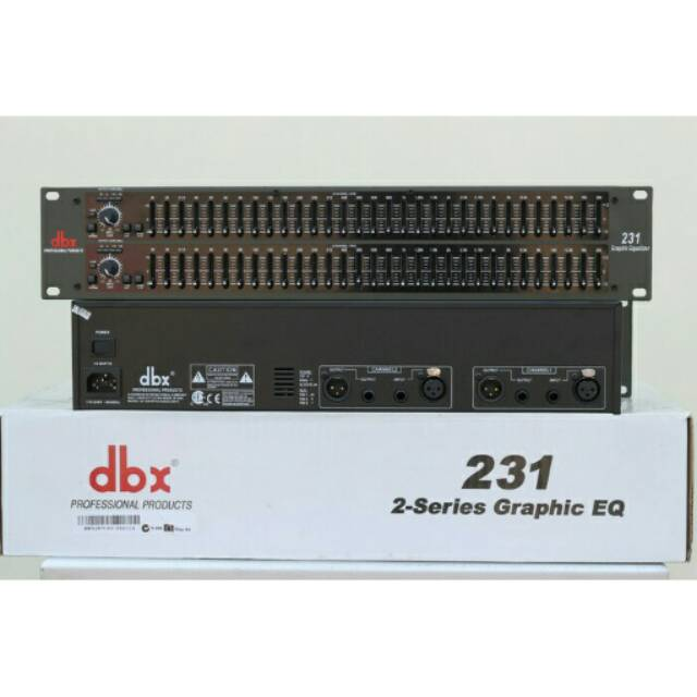 EQUALIZER DBX-231 EQUALIZER DBX 231 EKUALISER DBX-231 EKUALISER DBX231