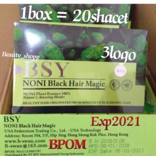 BSY NONI BLACK HAIR (Hrg/box)(EXP2021)(BPOM) shampoo