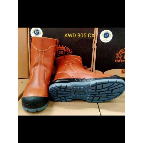 Sepatu Safety Kings Kwd 805Cx Original Kulit Asli