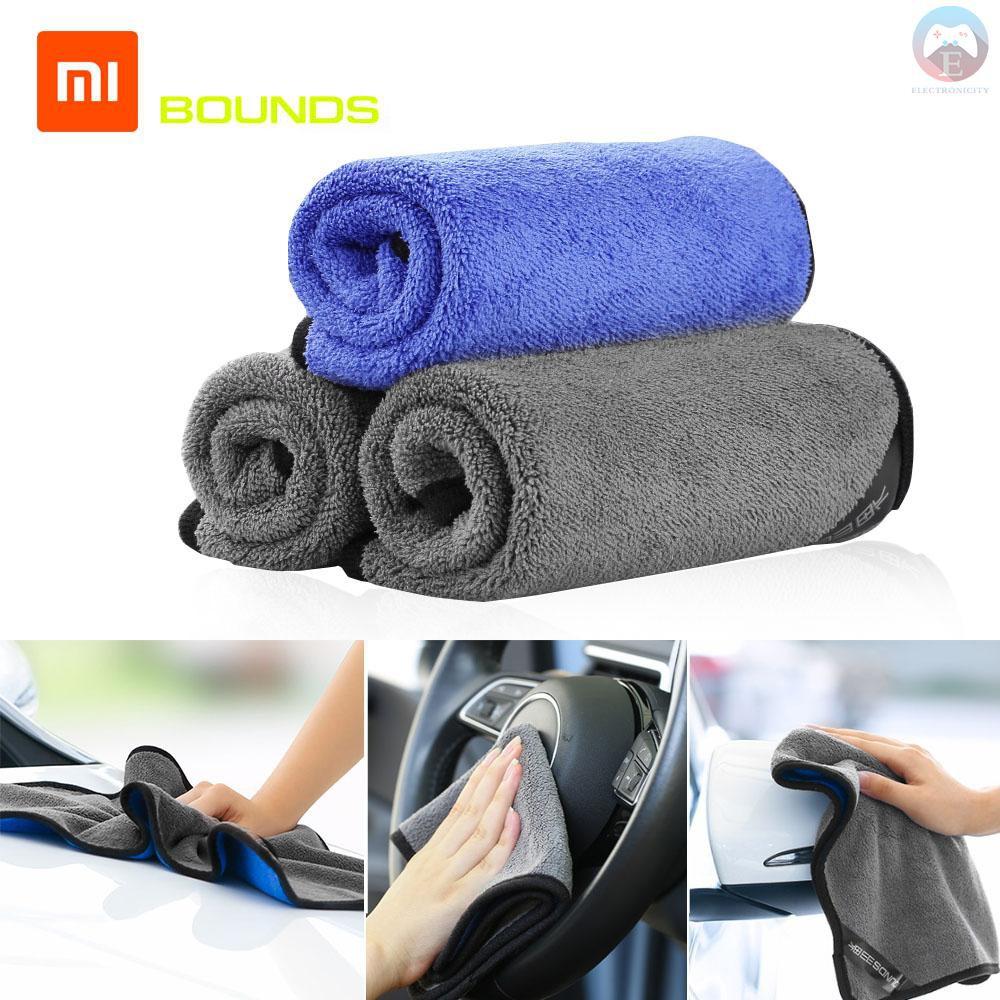 5Pcs Absorbent Microfiber Towel Car Home Kitchen Washing Clean Wash Cloth Tool