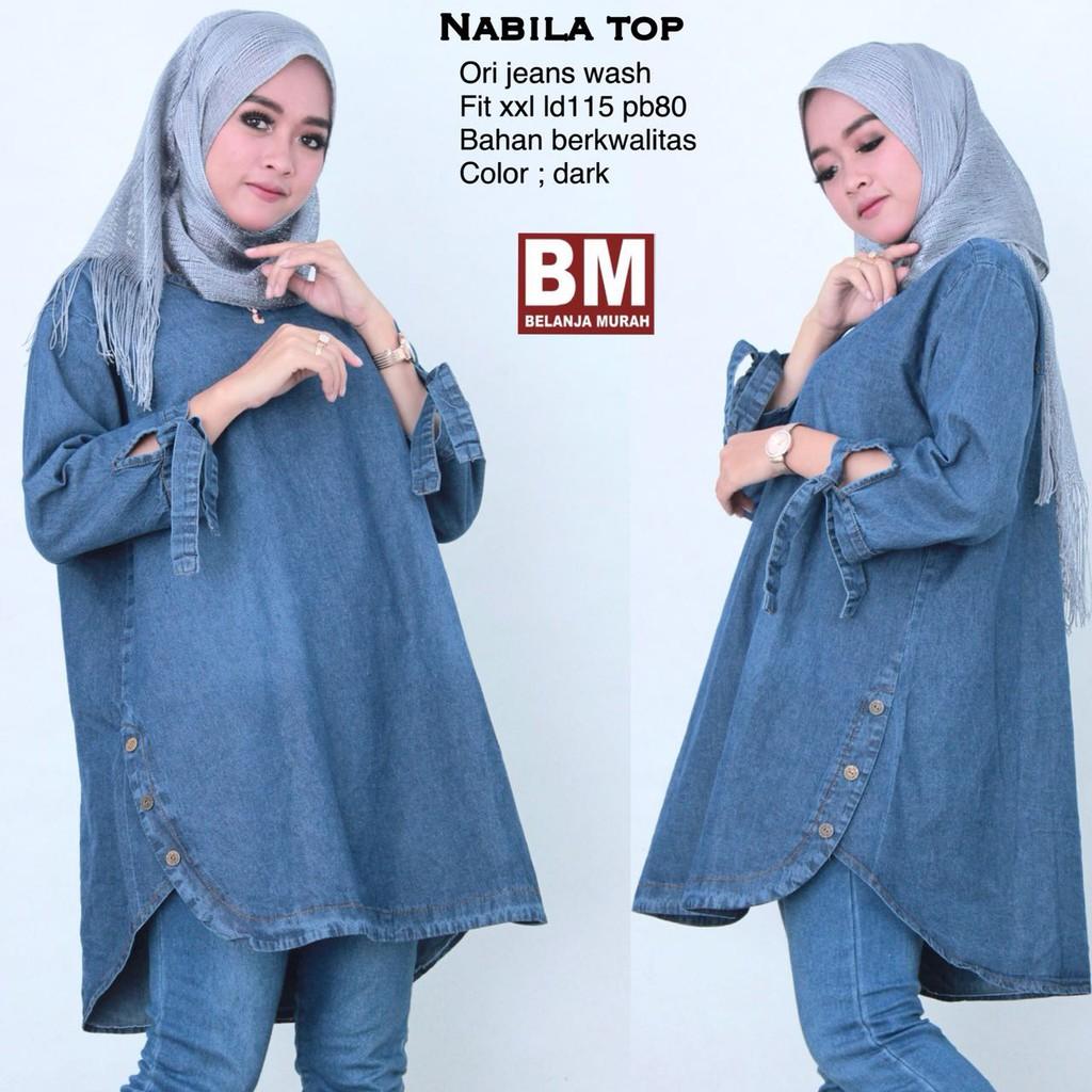 tunik xxl - Temukan Harga dan Penawaran Atasan Muslim Wanita Online Terbaik  - Fashion Muslim Januari 2019  6fc268f3fc