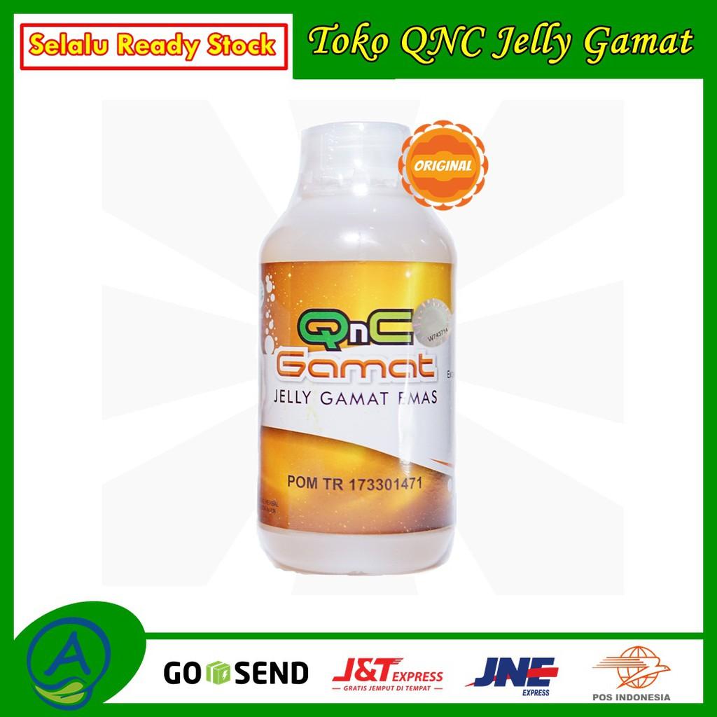 Qnc Jelly Gamat Asli Dari Teripang Emas 100 Original Toko Garansi Uang Kembali Jika Palsu Shopee Indonesia