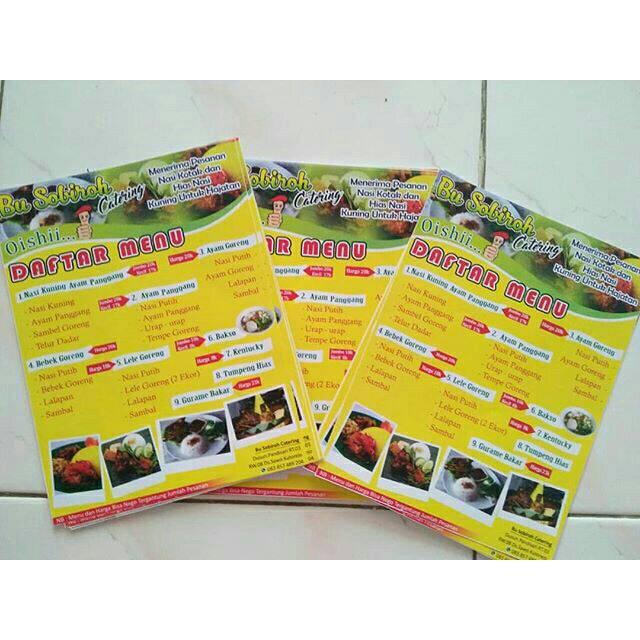 Brosur Makanan Shopee Indonesia