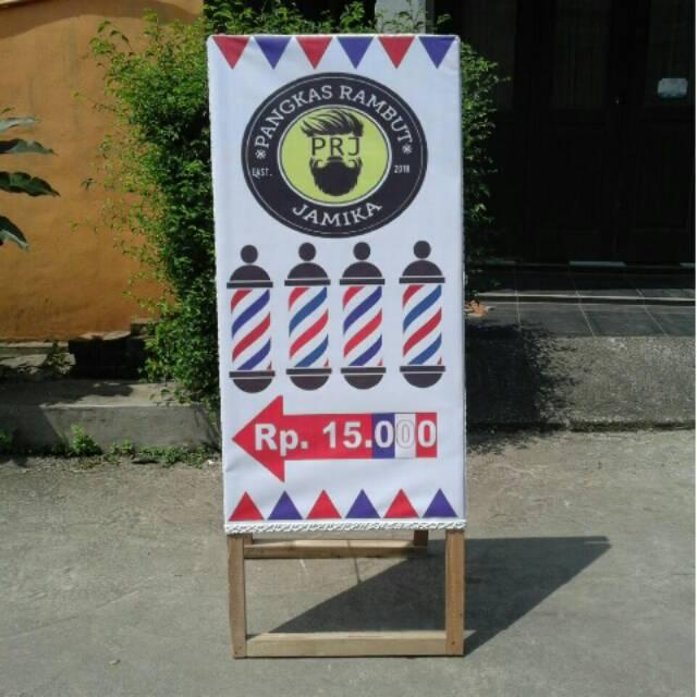 Contoh Banner Potong Rambut - kumpulan contoh spanduk