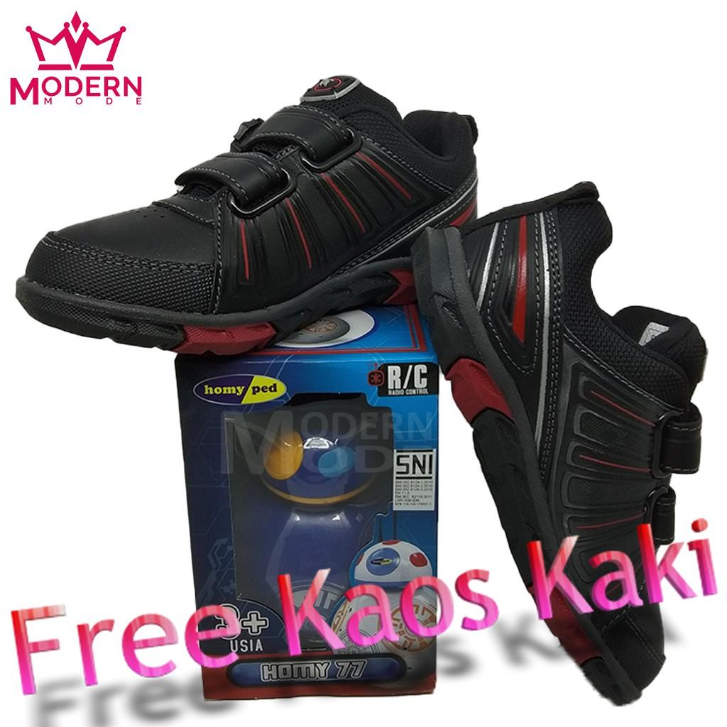 Sepatu Sekolah Homyped Iron Man 01 Shopee Indonesia Futsal Anak Guardiola Black Hitam 35