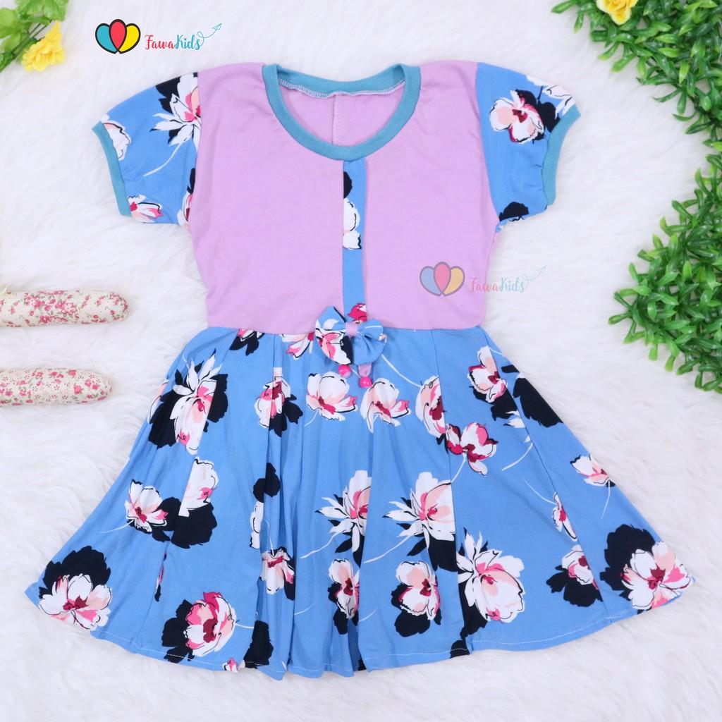 Macbee Kids Baju Anak Dress Chika Polka Variasi Lengan Sabrina Stripy Beetle Size 6 Orange Shopee Indonesia