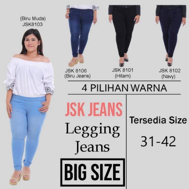 Celana jeans pinggang karet / jegging / legging jeans/ skinny jeans pinggang karet   Shopee Indonesia