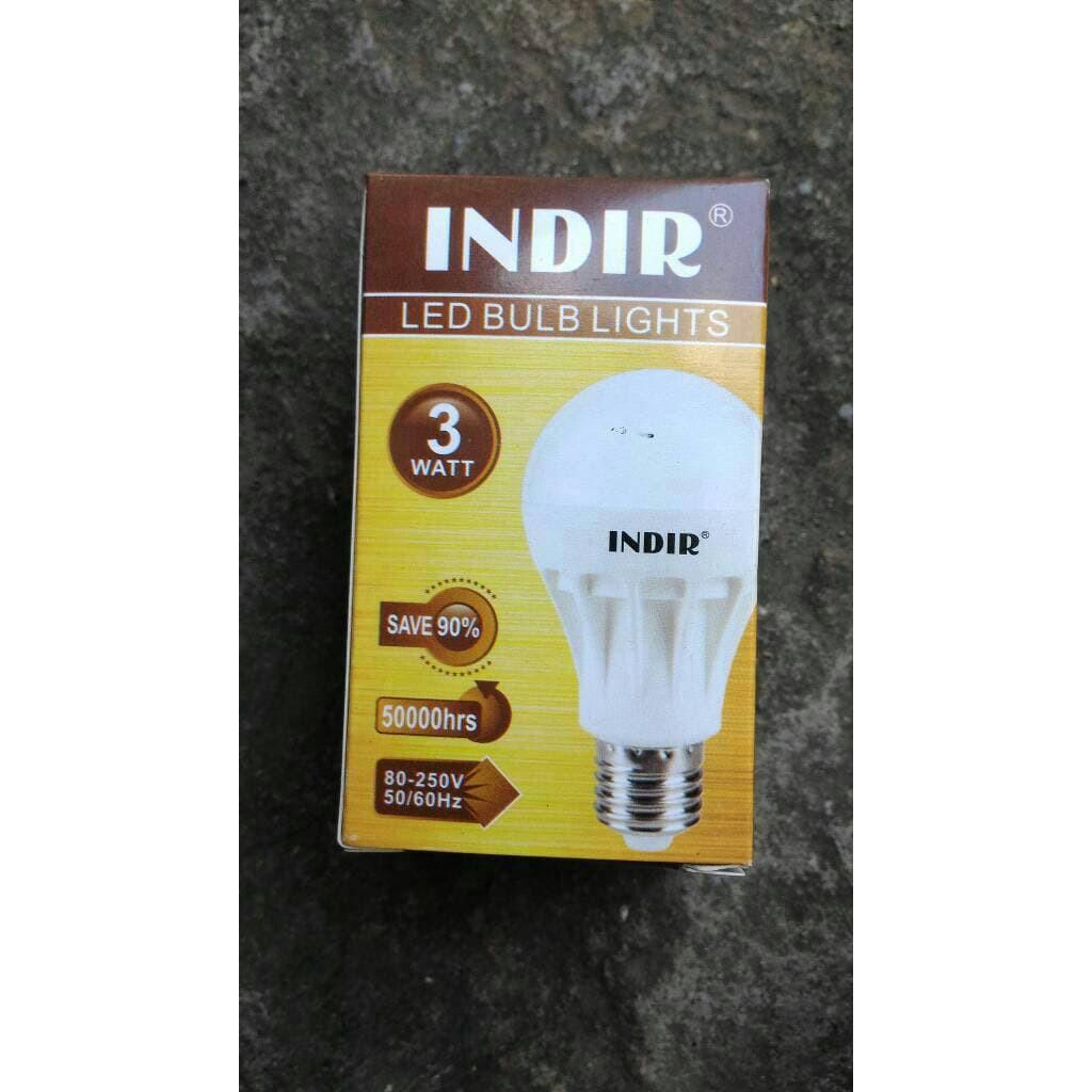 Lampu Led 3 Watt Indir 3w Murah Shopee Indonesia Tambahan Packing Bubble
