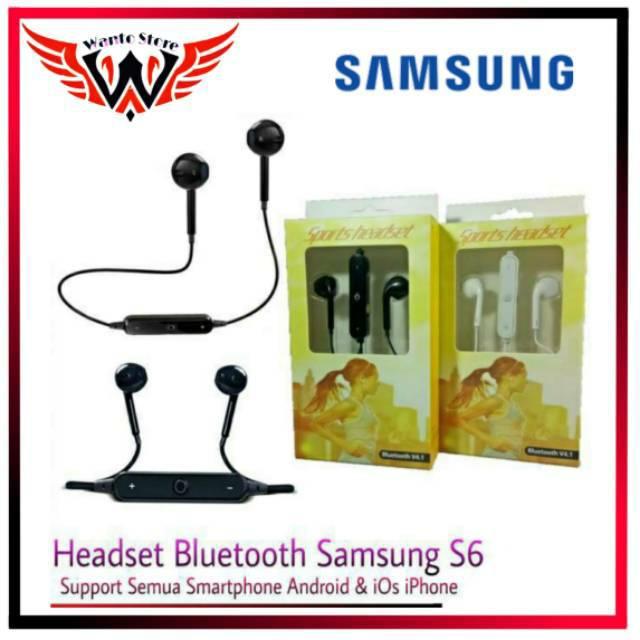 Headset Bluetooth Samsung S6 Wireless # Earphone Headset Bluetooth Wireless Music And Call
